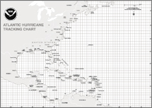 Hurricane Tracking Map
