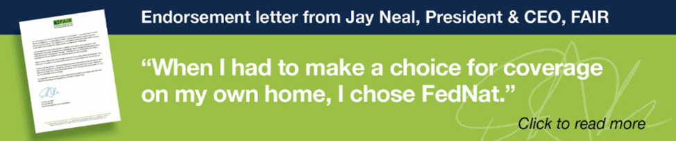 quote from Jay Neal of FAIR Foundation endorsing FedNat